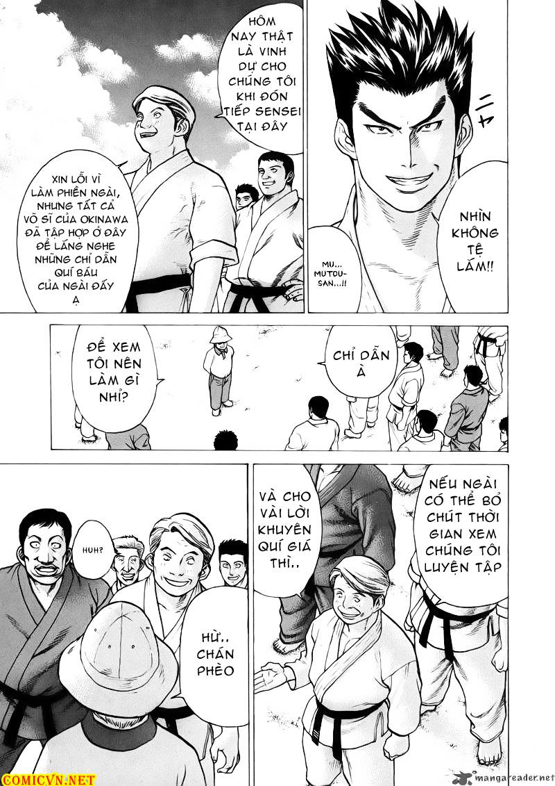 Karate Shoukoushi Kohinata Minoru chap 44 Trang 19