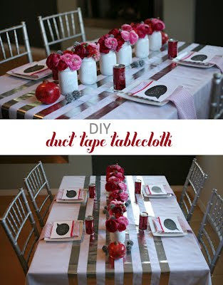Creative Tablecloths and Cool Tablecloth Designs (15) 7