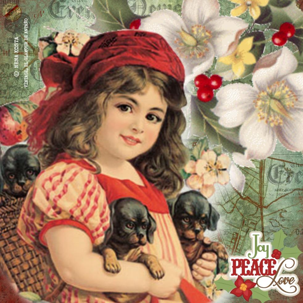 Xmas days-Nena Kosta-Vintage, el Glamour de Antaño