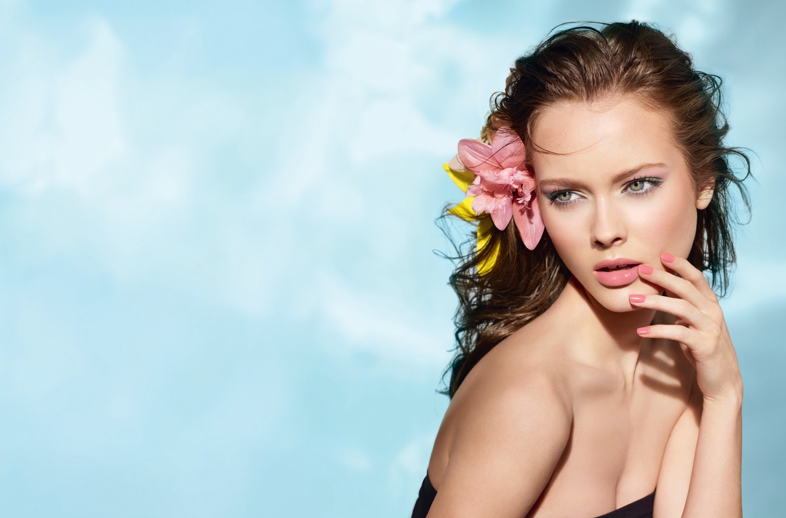 monika jac jagaciak, a polish model. promo image - fb spin