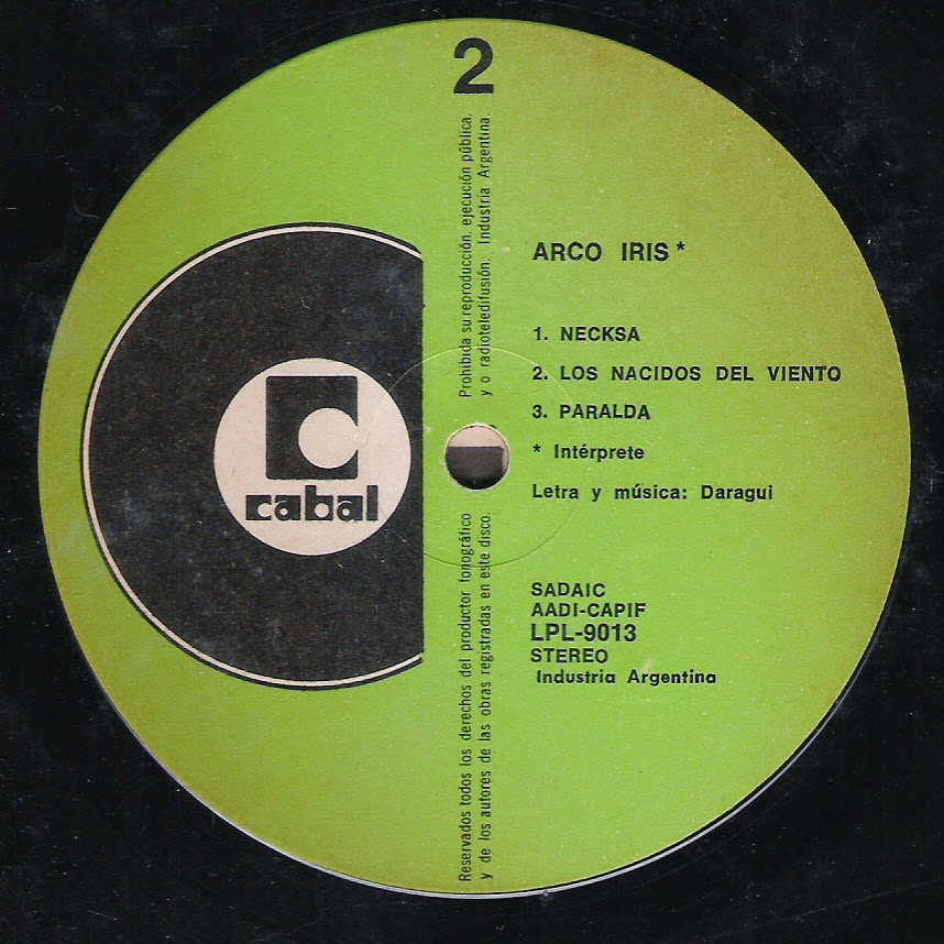 Arco iris - Los elementales (1977)