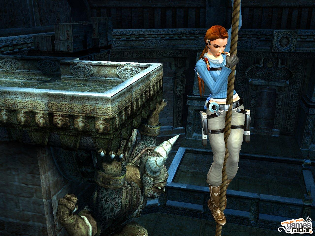 No s  243 lo PS2Tomb Raider Legend Screenshot