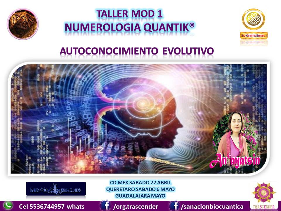 TALLER NUMEROLOGIA QUANTIK MOD 1