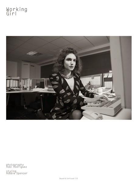 Saint Laurent Spring 2014 Lips Printed Silk Georgette Dress