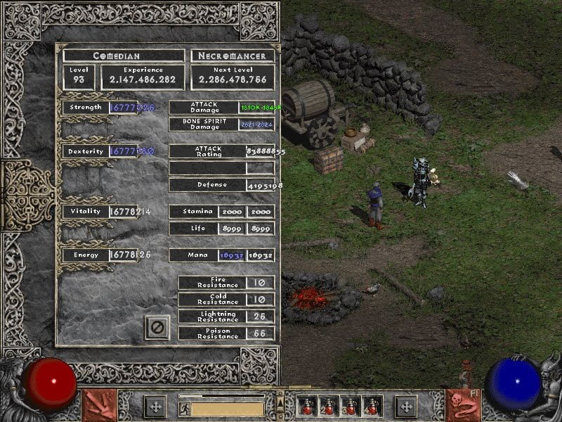 Diablo 2 Level 99 Character Download