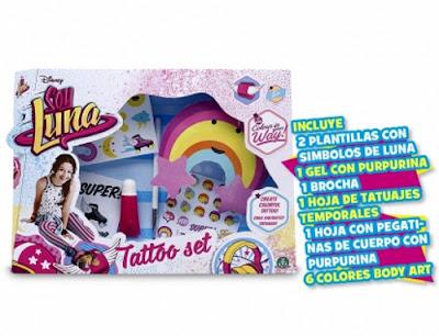 TOYS : JUGUETES - DISNEY Soy Luna Tattoo Set - Set de Tatuaje Giochi Preziosi 2016 | Serie Television Comprar en Amazon España