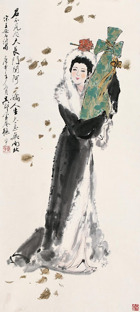 The 4 great  beauties of ancient China: the painting of Wang Zhao-jun