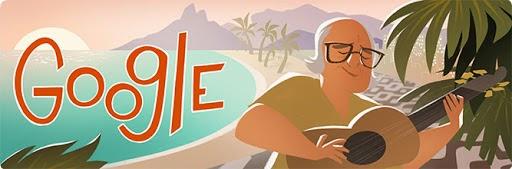 Doodle Vinícius de Moraes