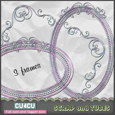 Elegant Frames (CU4CU) .Elegant+Frames_Preview_Scrap+and+Tubes