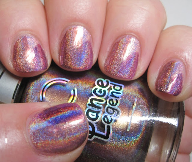 Patchwork mani with Dance Legend Holos