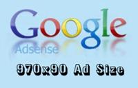 Google Adsense - New 970x90 Ad Size