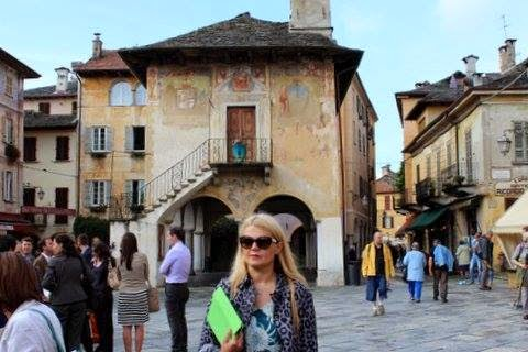 Iulia Motoc ORTA ITALY September October 5 2014 Romania