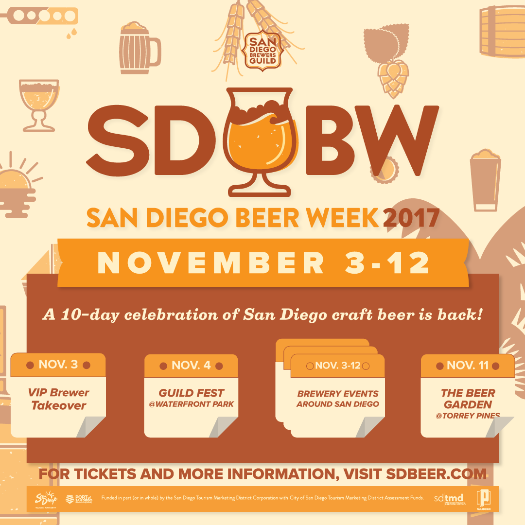 San Diego Beer Week Returns This November 3-12!