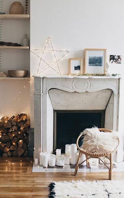 idées décoration cheminée