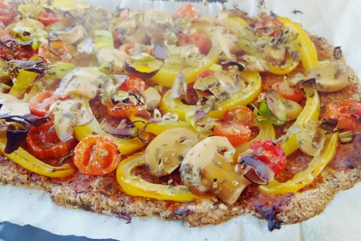the healthy way of life vegane pizza. Black Bedroom Furniture Sets. Home Design Ideas
