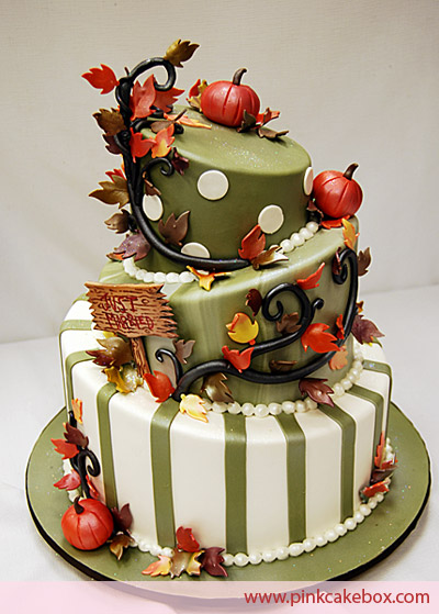 Autumn Wedding Cake Toppers5
