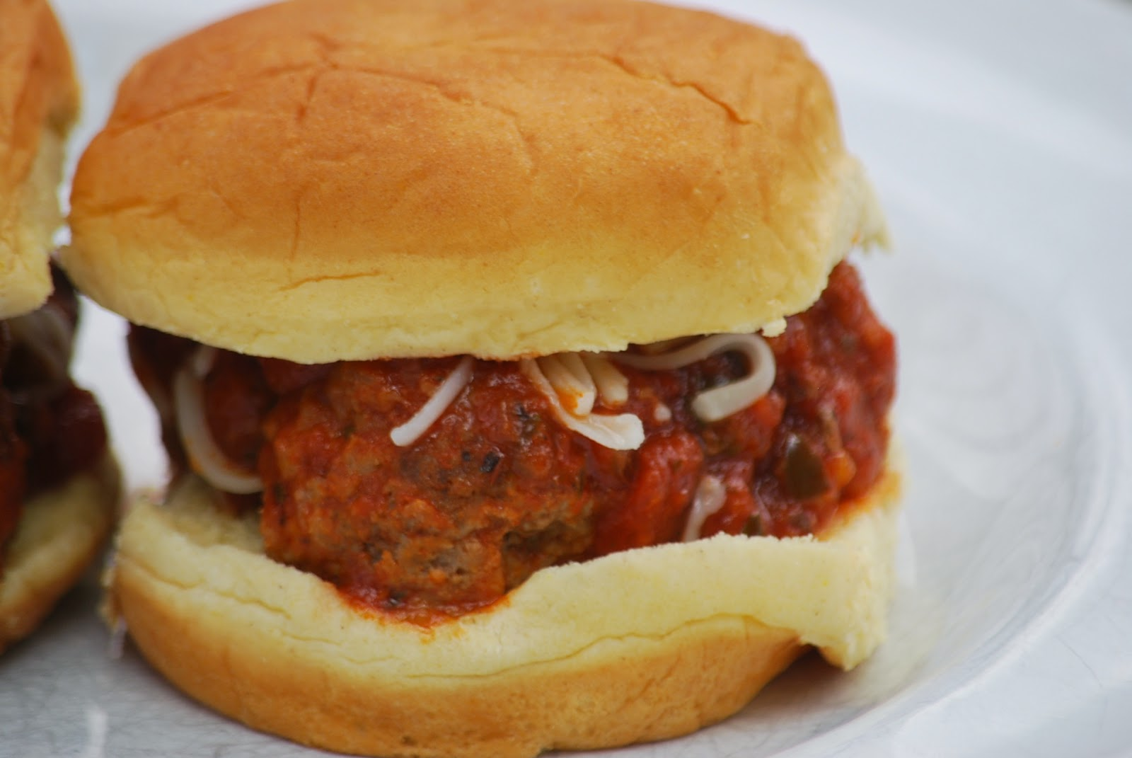 My story in recipes: Mini Meatball Sliders