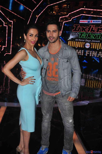 Malaika Arora Khan on Sets of India Got Talent Photos