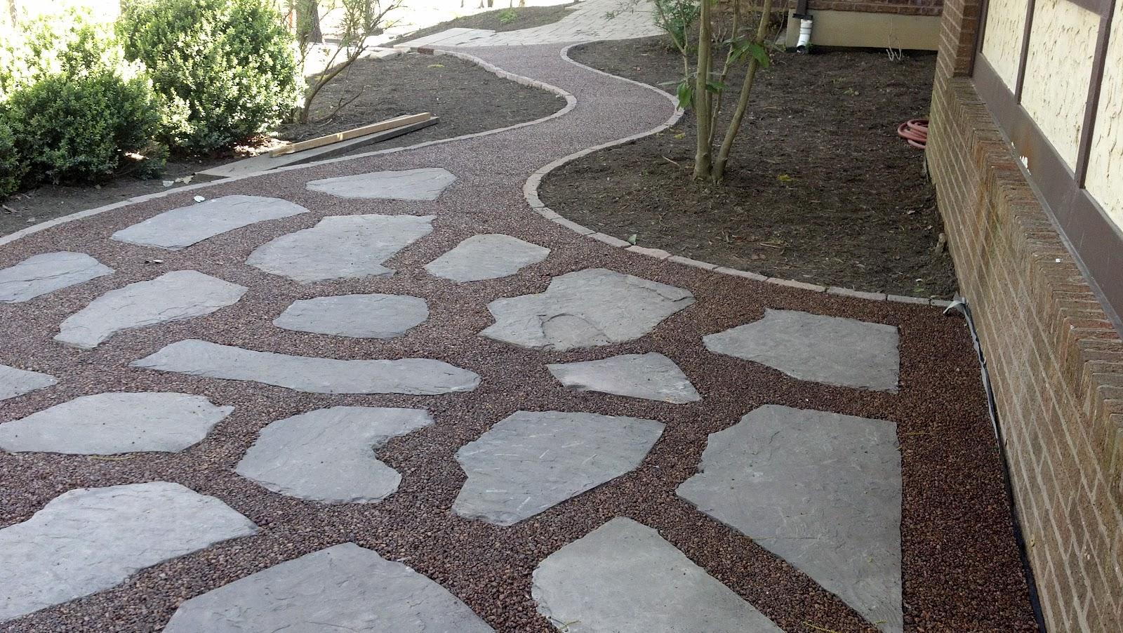 Gravel Lok Pebbles Patio U0026 Walkway