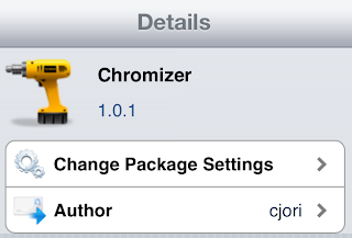 chromizer Cydia Tweak