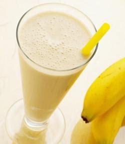 Vitamina de Banana com Farinha Láctea