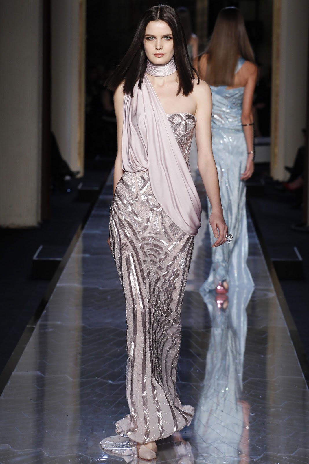 Atelier versace haute couture s s 14 visual optimism for Haute couture atelier