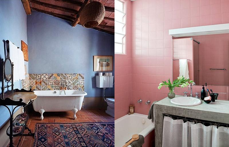 Banheiro colorido é só amor, não acha?!