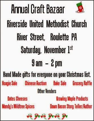 11-1 Craft Bazaar, Roulette, PA