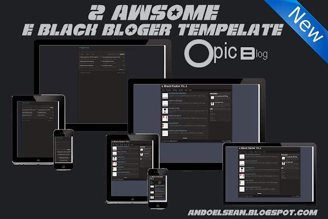 Tempelate blogger responsive and seo friendly