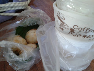 ขนมครก กับ กาแฟสด