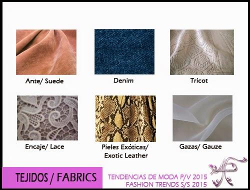 Fabrics Spring Summer 2015