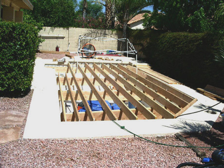 Fill in pool australia convert your pool into decking for Ideas to fill in inground pool