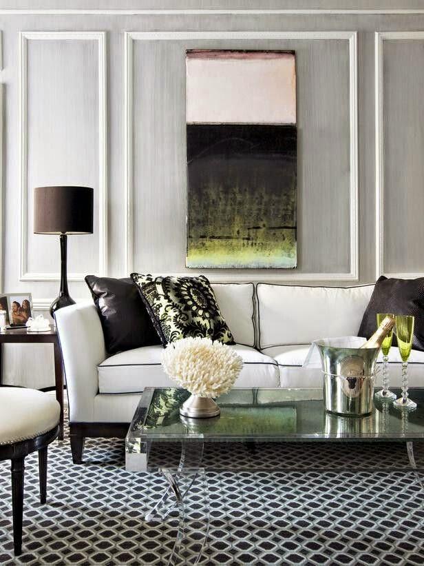 25 ideas de decoraci n de salas que poner al lado del sofa for Adornos para poner encima de una mesa de salon