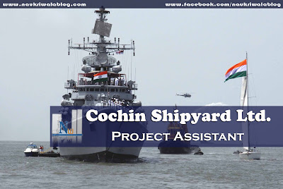 Project Assistant Job 2015