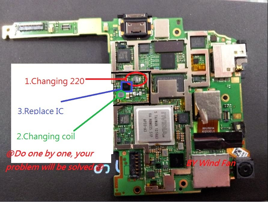 HTC one X Charging solusi