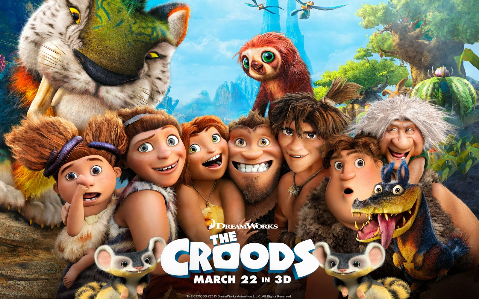 It's just a picture of Gargantuan The Croods Free