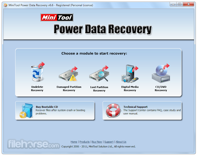 MiniTool Power Data Recovery Free download