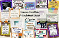 Common Core 4th Math Club