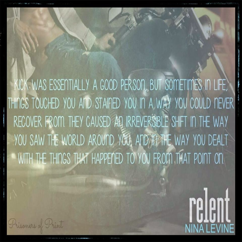 Review Relent by Nina Levine