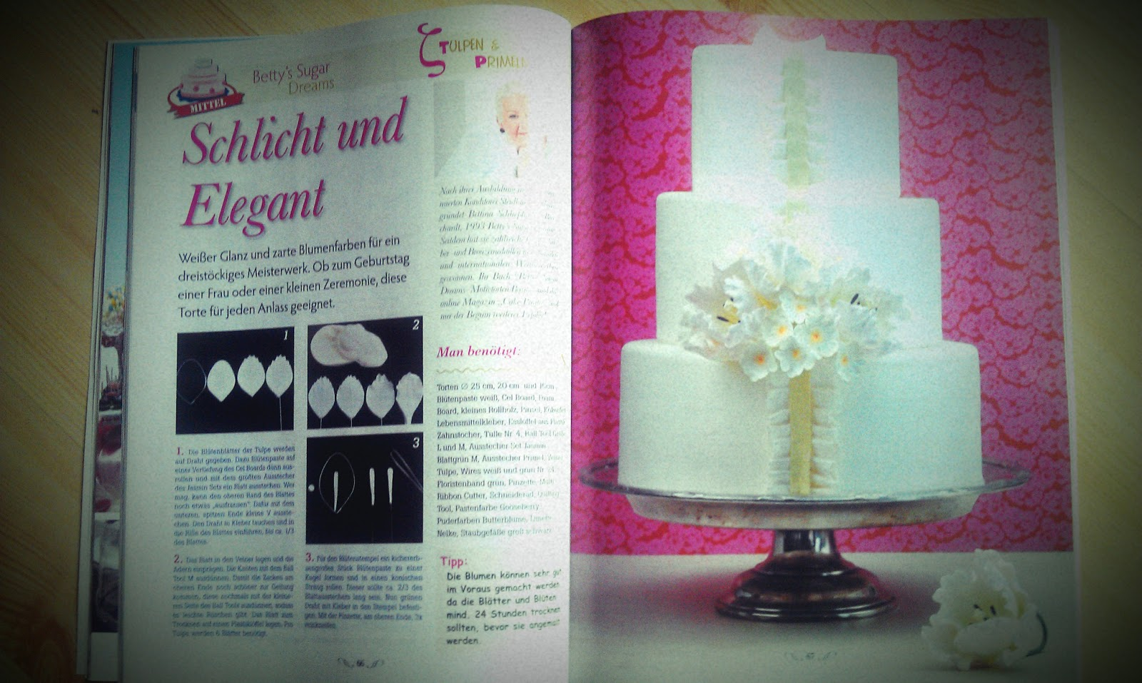 Cake Art Decor Zeitschrift : Betty?s Sugardreams - Blog: Marz 2013