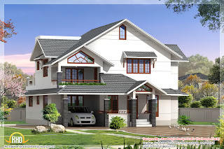 3D house elevations