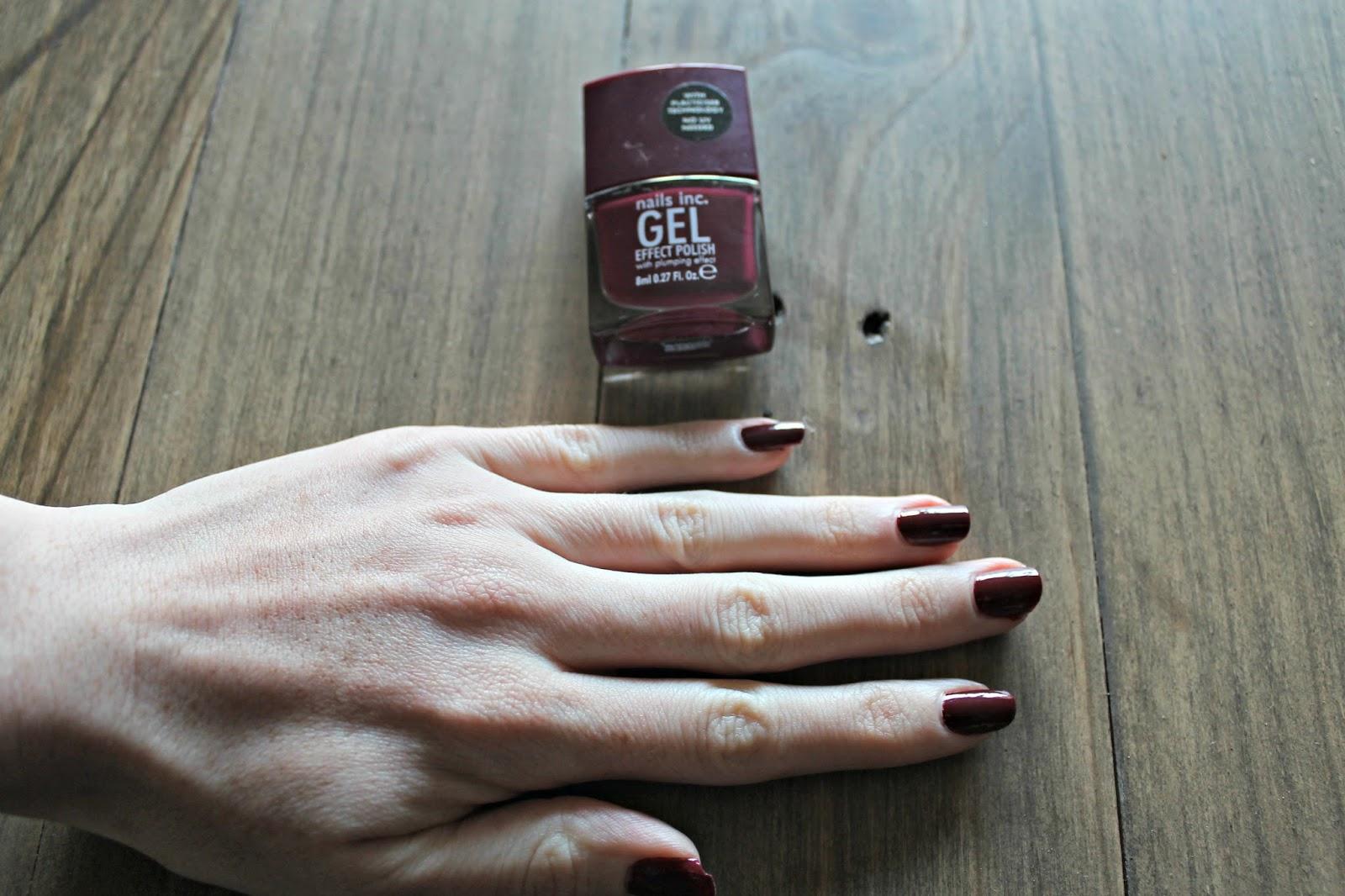 Nails Inc Gel Effect Polish Blog Review
