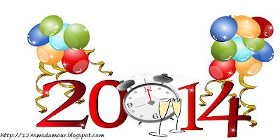 Souhaiter bonne année 2014