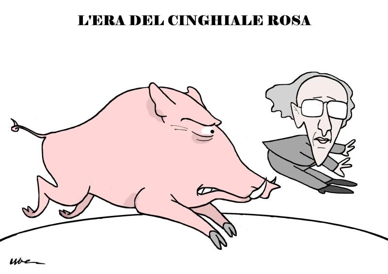 Humour il cinghiale rosa for Composizione parlamento italiano