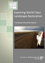 Exploring World Class Landscape Restoration Report