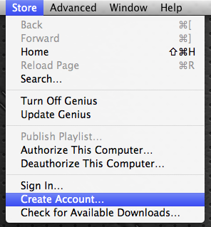 how to create us itunes account
