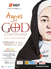 Agnes of God - February 17 to March 12 at the OnStage Theater in Greenbelt 1, Makati City