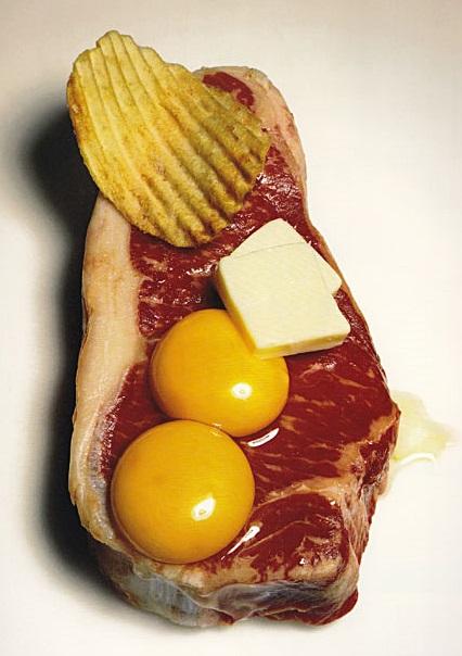 Irving Penn Still Life Cholesterol Revenge