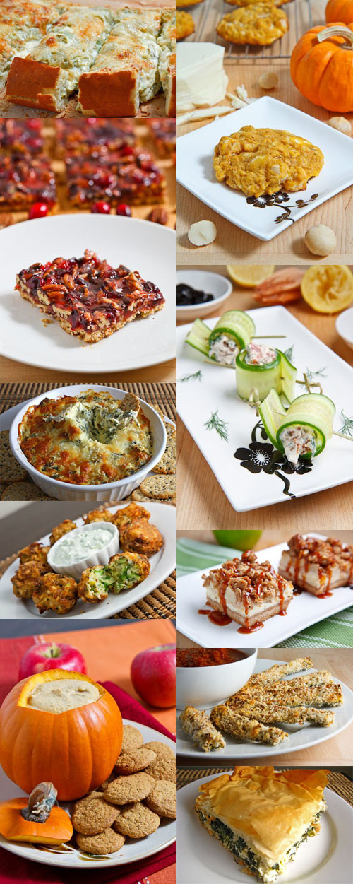 Thanksgiving Appetizers Collage
