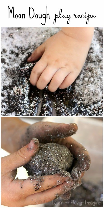 How to make MOON DOUGH - this is so cool!